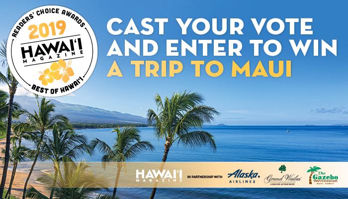 2019 Hawaii Magazine Readers Choice Awards Best Of